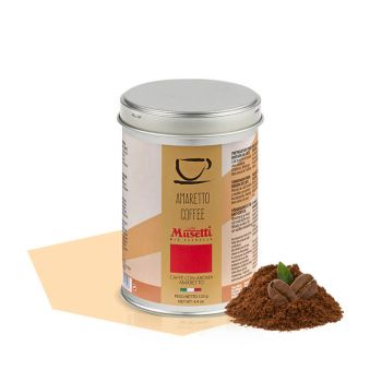 Can of ground coffee Amaretto aroma  125 g