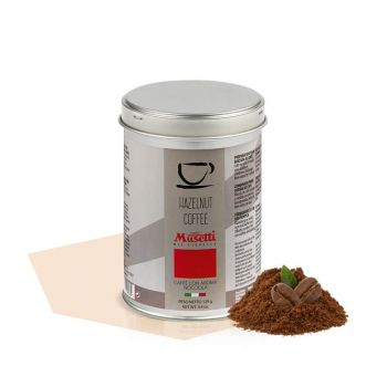Can of ground coffee Hazelnut aroma 125 g