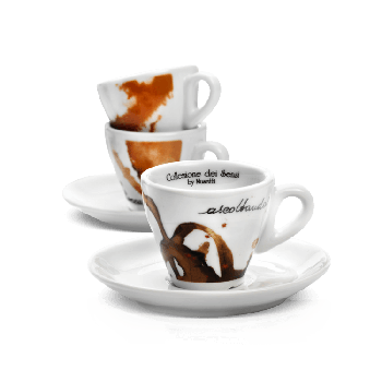 Set of 6 cups Sensi Collection
